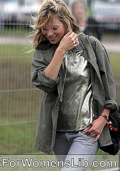 Kate Moss sin maquillaje