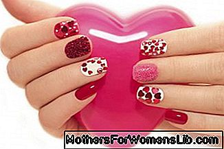 San Valentín: video tutorial nail art para uñas cortas.: para