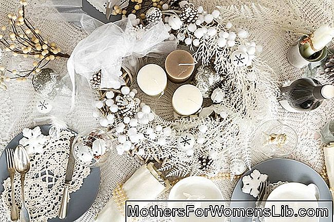 La table de Noël shabby chic | Table de noel avec des bougies | photo