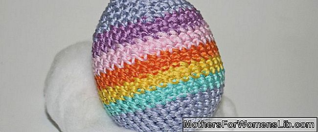 Tutorial: crochet color huevo de pascua.: huevo
