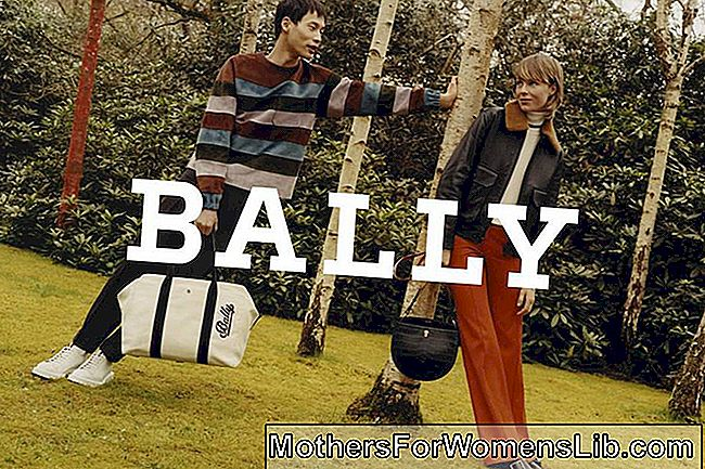 Kampaň Bally Autumn Winter 2018