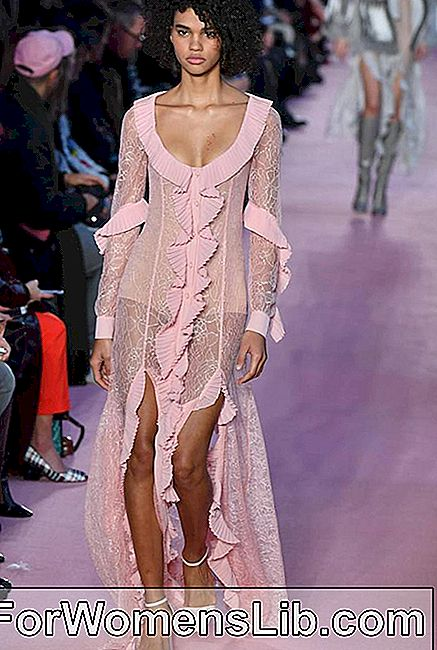 Robe Blumarine rose transparente
