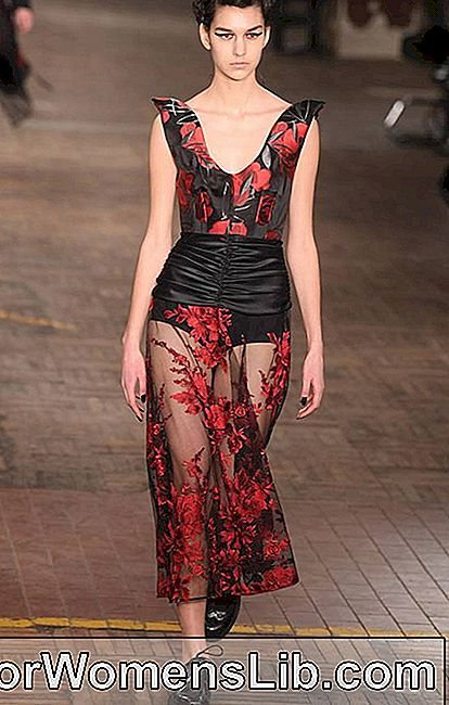 Antonio Marras robe avec jupe transparente