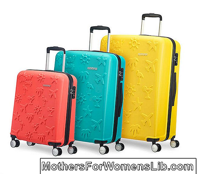 Carro de colores Tourister americano