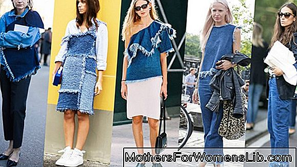 Primavera verano 2019 tendencias denim.