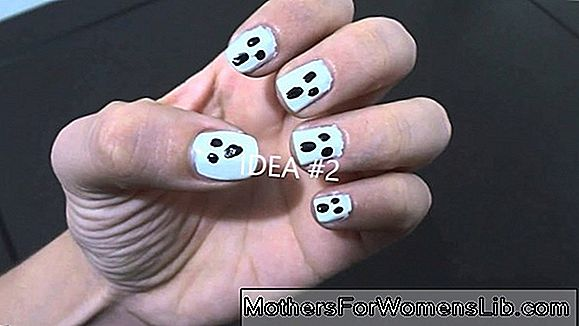 Video tutorial de uñas de Halloween: uñas con esqueletos, momias y fantasmas