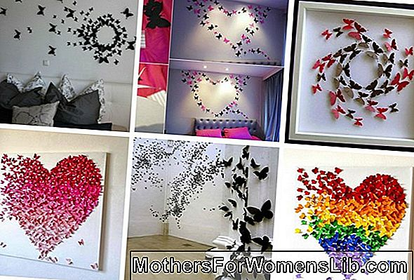 Ideas para decoraciones creativas con mariposas.