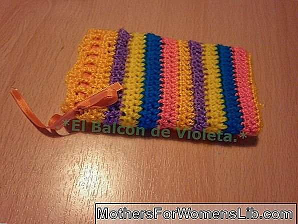 Crochet iPhone funda patrón