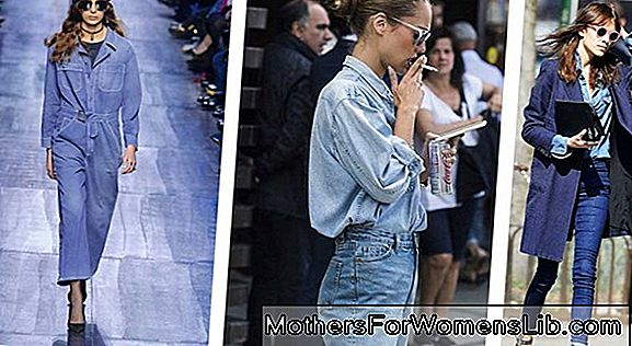 Tendencias de otoño: el look total en denim.
