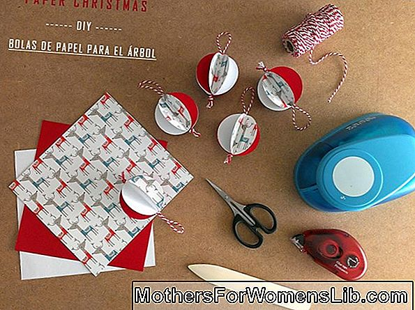 DIY decoraciones navideñas con papel