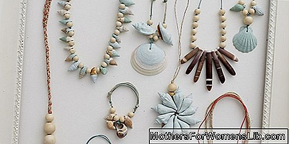 Tutoriel, le collier de coquillages