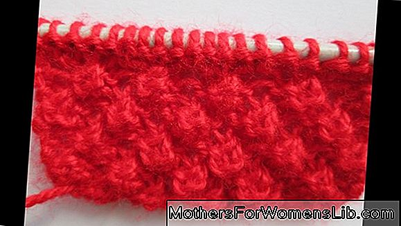 Comment faire le point de pop-corn au crochet, le motif