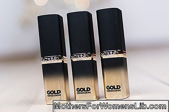 L'Oreal Paris Gold Obsession av Color Riche: den spesielle samlingen for Venice Film Festival 2019