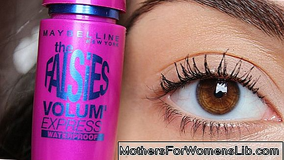 Mascara Falsies Potisnite Angel z Maybelline New York: za magnetne trepalnice