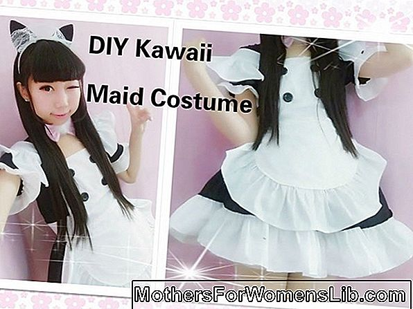 DIY Carnival Cosplay z navdihom Lum in Sailor Moon