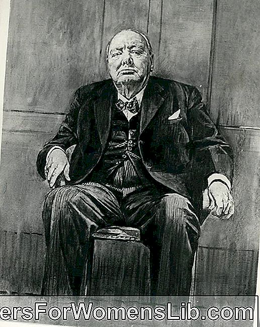 Le portrait de Winston Churchill