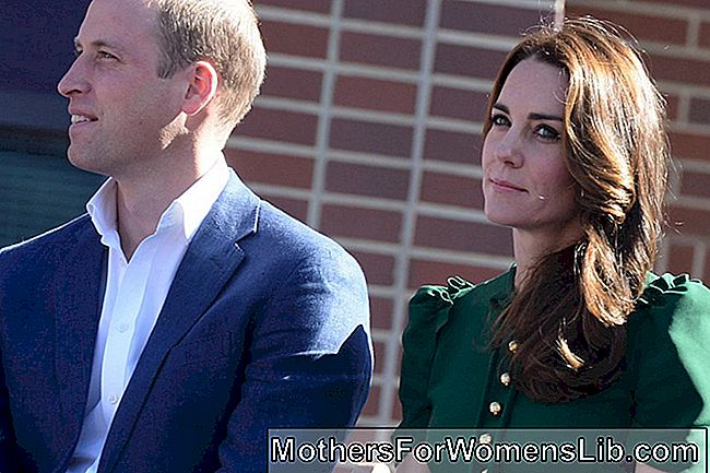 Kate con William en Canadá